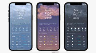 Apple Weather WWDC 21