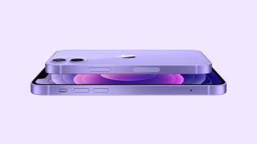 Apple iPhone 12 paars Spring Loaded iOS 14.6