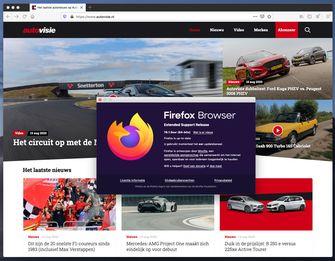 Firefox ESR macOS OS X