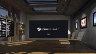 Steam VR home