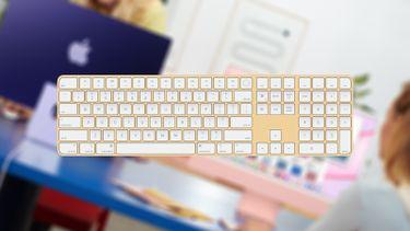 iMac Apple toetsenbord 16x9