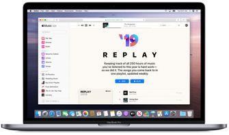 Apple Music replay 2019 Mac 001