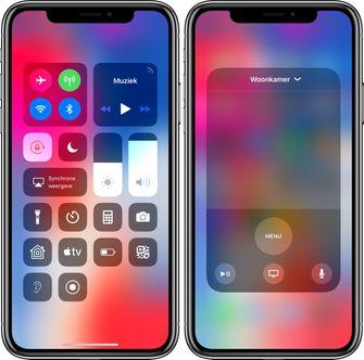tvOS 12 iOS 12 remote