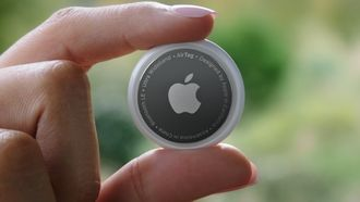 Apple Air Tag Spring Loaded