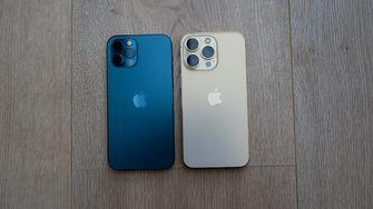 iPhone 12 Pro versus iPhone 13 Pro