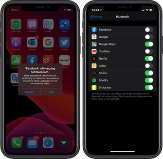 iOS 13 privacy bluetooth 001