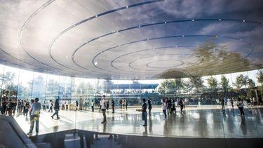 Steve Jobs theater wint belangrijke engineering prijs