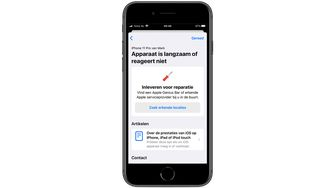 iPhone Apple Support App