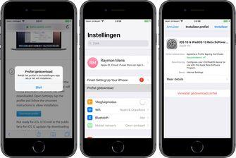 iOS 13 publieke beta installeren