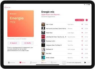Apple Music energie mix 001