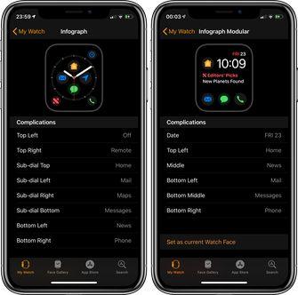 Apple Watch complicaties