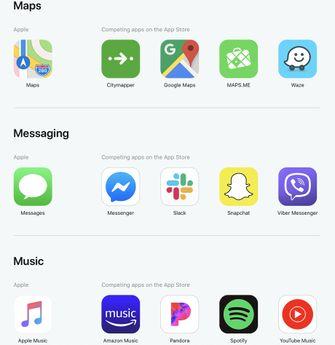 App alternatieven