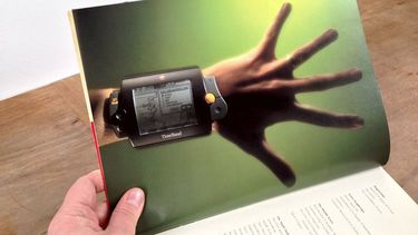 De allereerste Apple Watch, de TimeBand