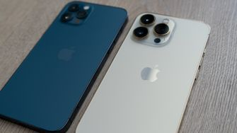 iPhone 12 Pro versus 13 Pro