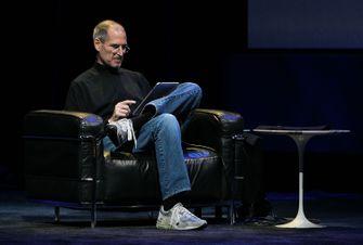 Apple CEO Steve Jobs (klik/tap voor groter)