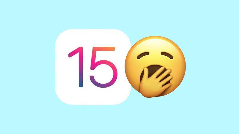 iOS 15 iPadOS 15 valt tegen iPhone gebruikers