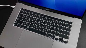MacBook Pro 16 inch detail 001 Toetsenbord
