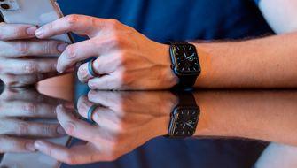 Apple Watch Series 5 scherm 16x9
