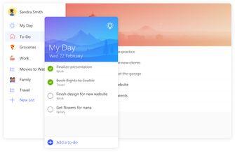 Microsoft To-Do desktop