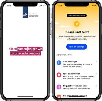 Corona-app CoronaMelder