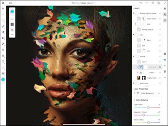 Photoshop iPad screenshot Adobe Illustrator 001