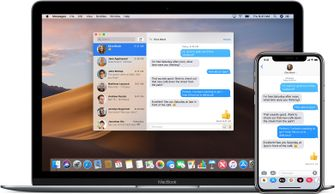 Berichten-app op macOS en iOS