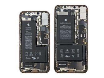 iPhone Xs teardown accu 001