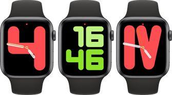 Apple Watch watchOS 6 cijfers wijzerplaat 001