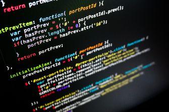Javascript Computer Code ontwikkelaars
