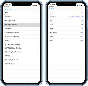 iPhone echte bereik meten