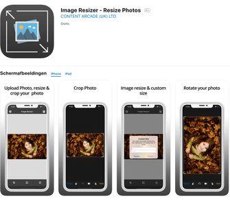Image Resizer iPhone camera-tips