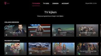 TV Anywhere T-Mobile Thuis