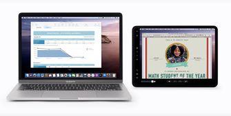 Sidecar op iPad en Mac