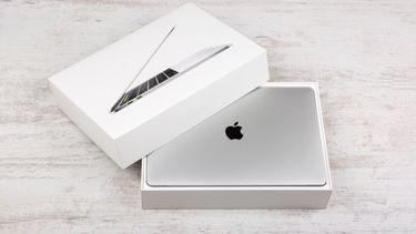 MacBook Pro in doos