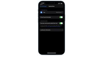 Opdrachten iOS iPhone