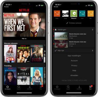 Nieuwe Netflix app