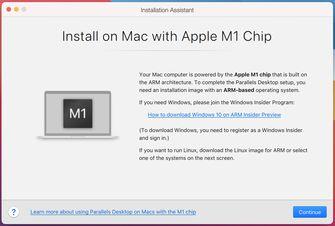 Parralels Desktop 17 Windows 10 Mac Apple Silicon