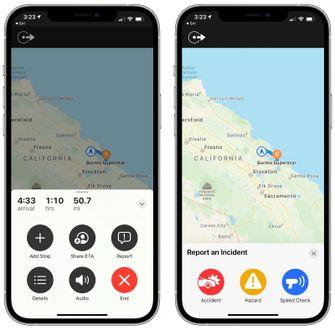 Apple Maps functionaliteit