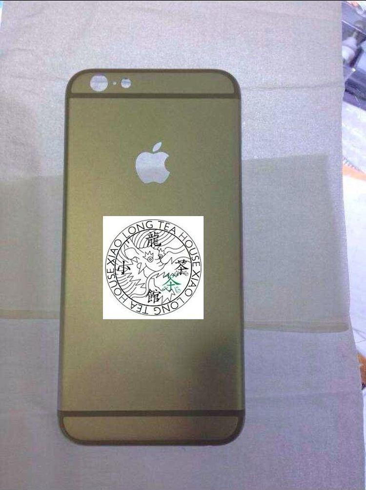 Achterkant met Apple-logo.