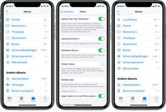 iOS 14 beta 5 verborgen album