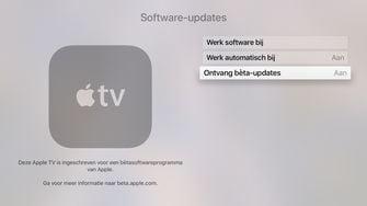 apple tv beta