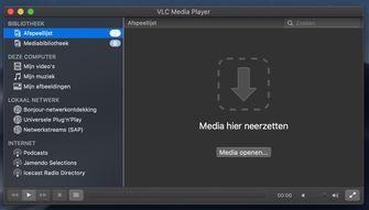 VLC Dark Mode macOS Mojave