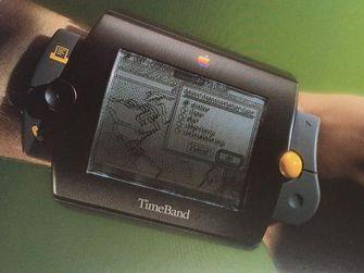 Het prototype van de Apple TimeBand