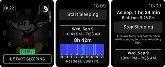 Apple Watch slaap