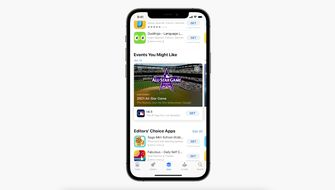 in-app events app store