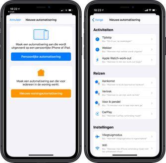 iOS 13.1 automatiseringen opdrachten-app 001