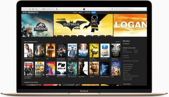 iTunes opsplitsing