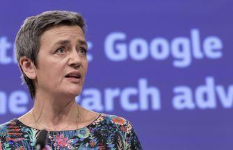 Margrethe Vestager Google