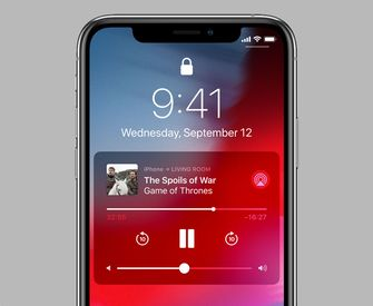 AirPlay 2 controle