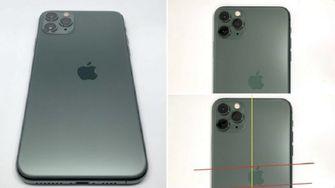 iPhone 11 pro met drukfout